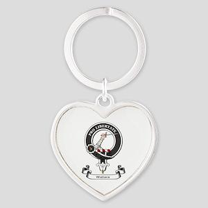 Badge-Wallace [Renfrew] Heart Keychain